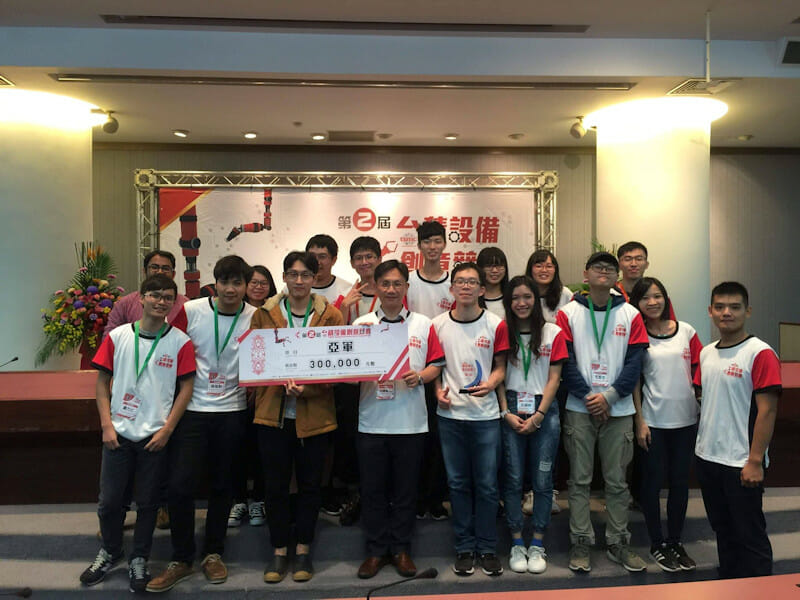 The second TSMC Equipment Creativity Competition 2nd -place